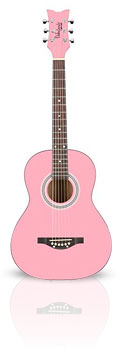 Daisy Rock Pixie Starter Pack Guitar From The Pink Superstore