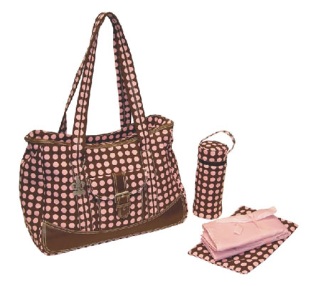 Diaper Bag Rose Week-Ender Bag From The Pink Superstore