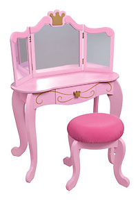 Kidkraft Princess Diva Table & Stool From The Pink Superstore