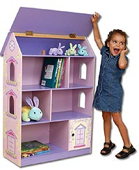 Kidkraft Doll House Bookcase 94 00 From The Pink