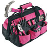 Pink Tool Set and Pink Tool Bag