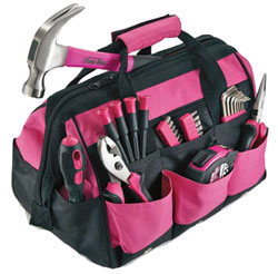 Pink Tool Kit From The Pink Superstore